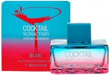 ANTONIO BANDERAS : Cocktail Seduction Blue For Women