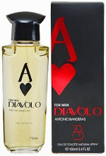 ANTONIO BANDERAS - DIAVOLO For Men Az De Corazones