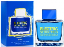 ANTONIO BANDERAS : ELECTRIC Blue Seduction For Men