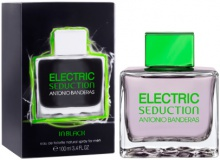ANTONIO BANDERAS : ELECTRIC Seduction In Black