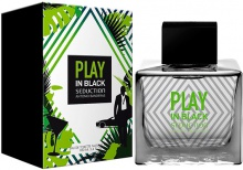 ANTONIO BANDERAS : Play In Black Seduction