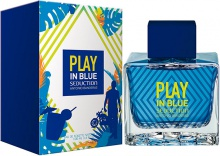 Antonio Banderas : Play In Blue Seduction For Men